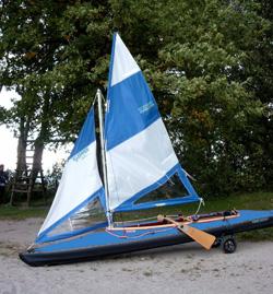 Klepper UK - Klepper Folding Kayaks UK - Klepper S1 S2 sail